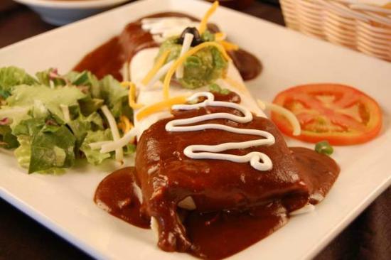 La Hacienda: Signature Burrito