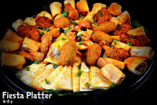La Hacienda: Fiesta Platter
