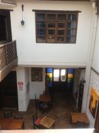 La Cigale: overlooking diningroom/bar at Las Cigales
