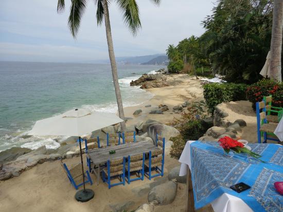 Casitas Maraika : vista del restaurant