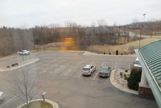 Holiday Inn Express Hotel & Suites Grand Blanc: The view from Room 321