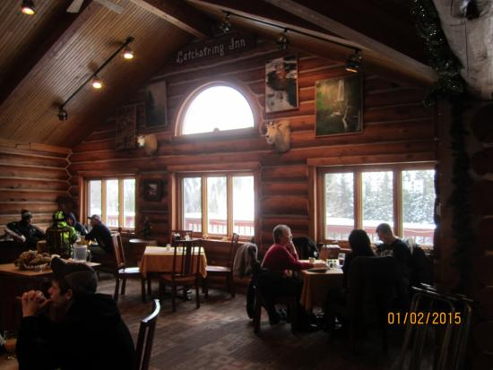 Latchstring Hunting Lodge Decor Inn Restaurant Spearfish Canyon Sd