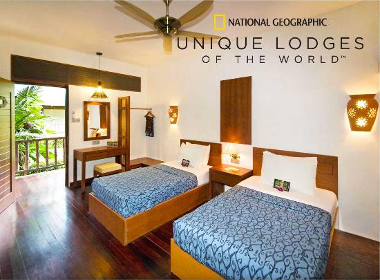 Sukau Rainforest Lodge: Our Spacious Rooms