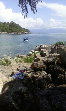 Palm Beach Leisure Resort: bird island mangochi..good times!