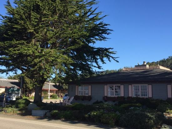 Sea Otter Inn: Exterior from the south.