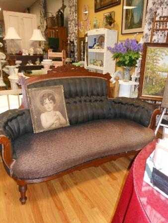 Andrews, Carolina del Norte: Victorian sofa