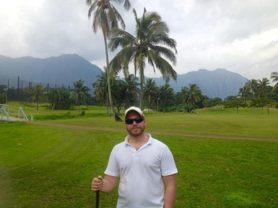 Kaneohe, HI: Bay view golf park