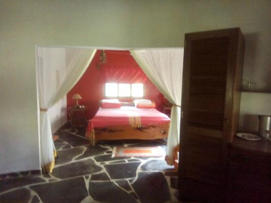 Spice of the Coast: The bedroom was beautiful.. Pilipili Room