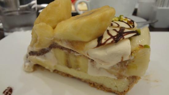 Berry cafe: バナナケーキ