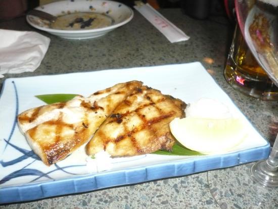 Chiba Ken: Grilled mackerel