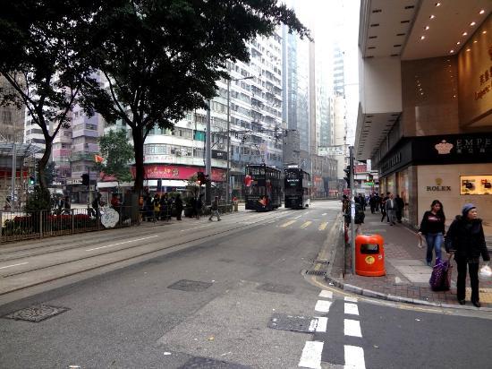 Hong Kong Hennessy Road: Трамваи - гордость улицы