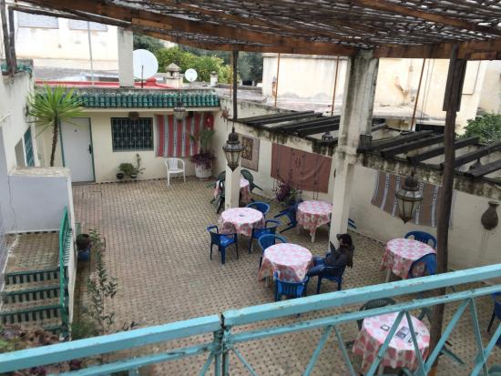 Youth Hostel Fes: Courtyard