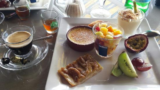 La Varangue : Café gourmand