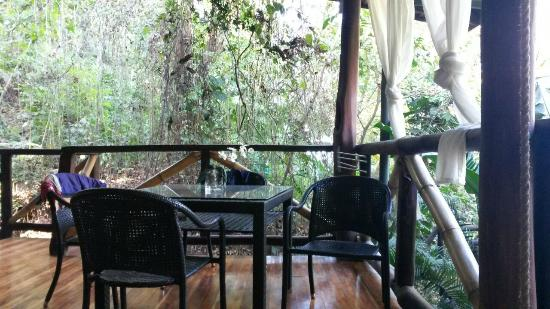 Canaima Chill House: Terrazza loft