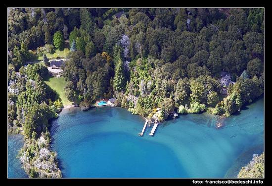 Millaqueo Luxury Villa: foto aerea