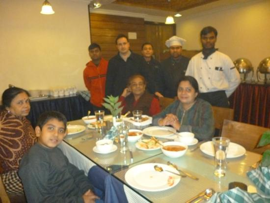 The restaurant in Comrade Inn with nice and cooperative staff