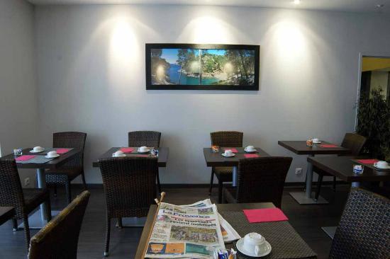 Hotel Terminus Saint Charles: La salle des petits-déjeuners