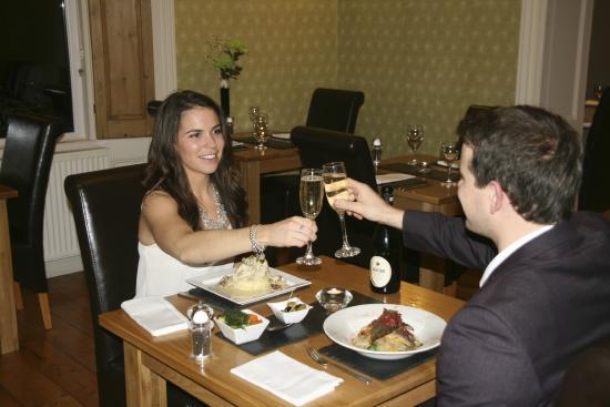 The restaurant at the mountsorrel: Celebration meal