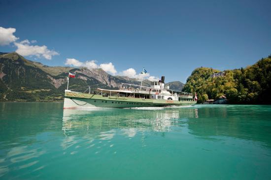 Chalet Gafri - BnB: Boattrip on lake of Brienz