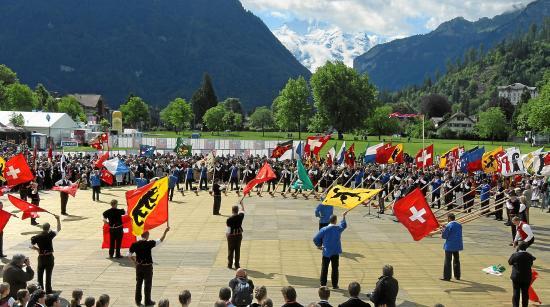 Chalet Gafri - BnB: Folklore in Interlaken