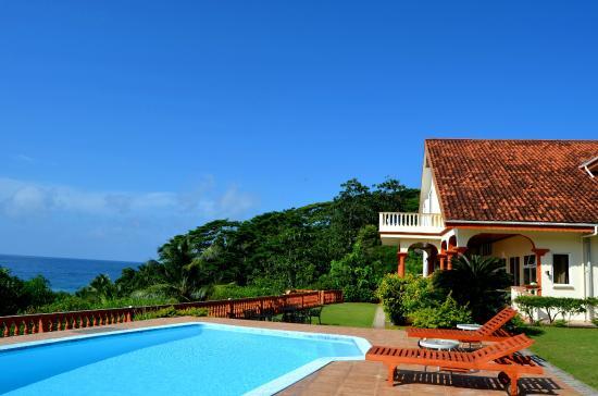 Bay View Villa: Бассейн возле виллы