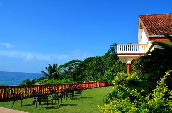 Bay View Villa: Вилла свидом на океан