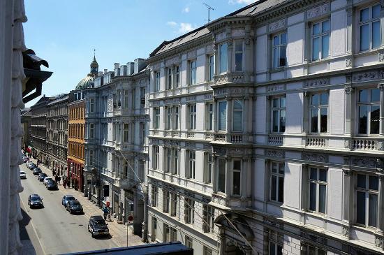 First Hotel Esplanaden : Вид из номера, третий этаж