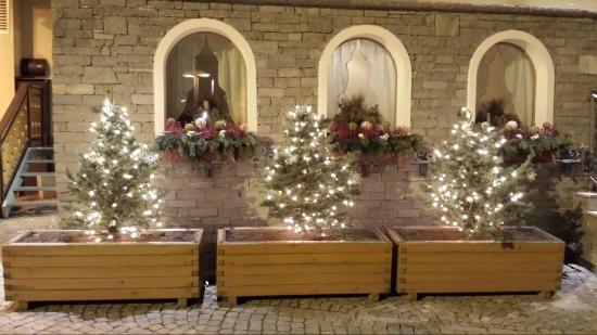 Hotel Pedranzini: decorazioni di Natale