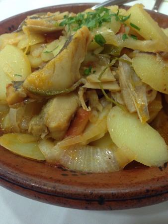 Restaurante Madureira Prado: Bacalhau à espanhola.