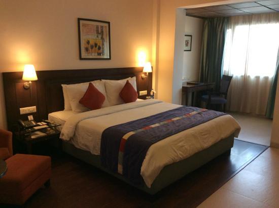 City Heart Sarovar Portico: Room