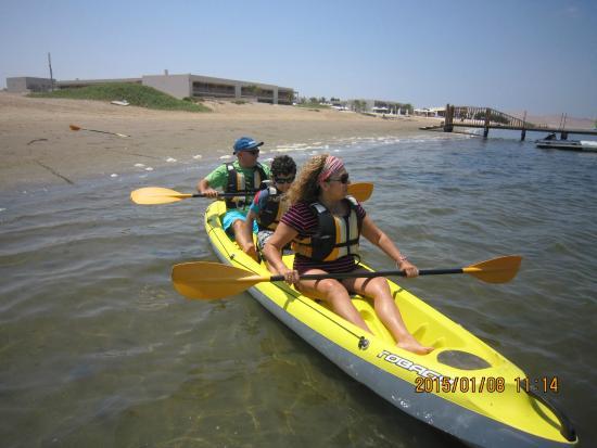 Paseo en Kayak por la Ría Formosa
