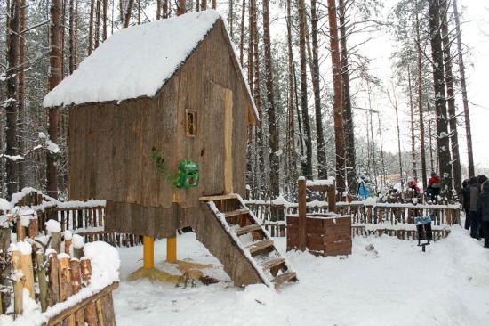 Yelabuga, Rusia: Избушка на курьих ножках