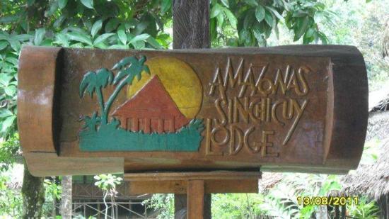 Amazonas Sinchicuy Lodge: Bienvenidos
