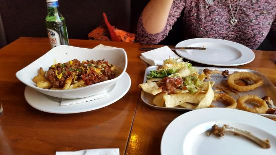 Tiger Tiger: The sharing platter and chilli chips