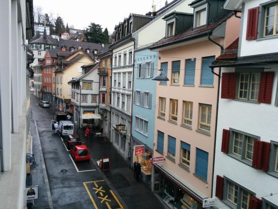 Hotel Elite St. Gallen: View from window