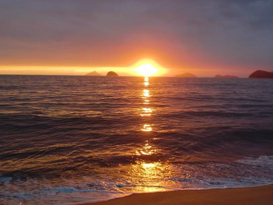 Boicucanga Beach: Por do sol