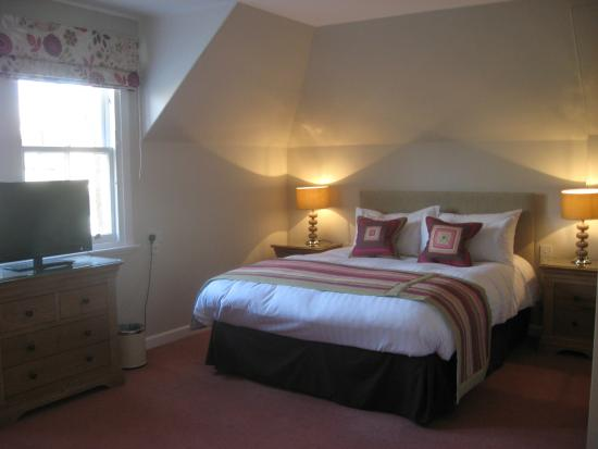 Shaftesbury Lodge: Large double room with en-suite shower room