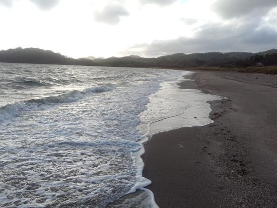 Ecoplaya Beach Resort : the beach outside your room