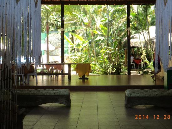 Pousada Canto de Itamambuca : Hall da recepção