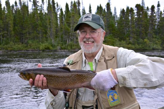 Coopers Minipi Lodges : Fly fishing