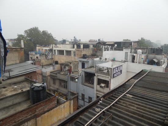 Hotel Hare Krishna: вид с крыши