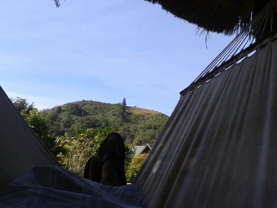 Pousada Remanso do Rio Preto: fundos da pousada