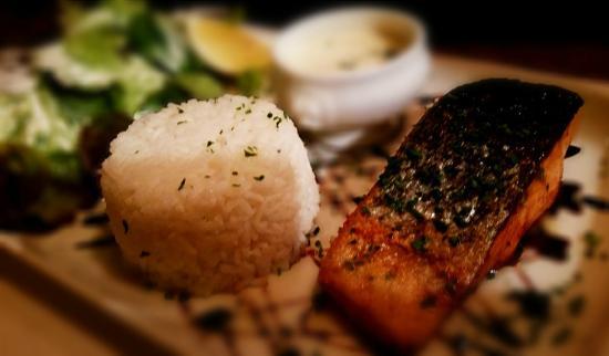 Brasserie Les Cimes: Pavé de Saumon à la Plancha