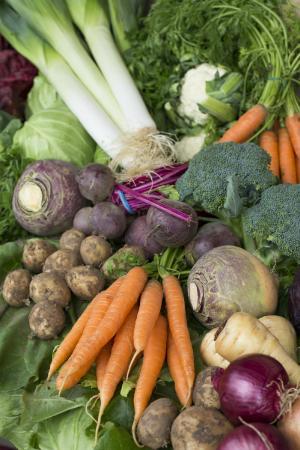 Cedarbarn Farm Shop and Cafe: Fresh Vegetables