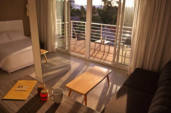 2122 Hotel Art Design: balcon