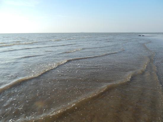 Versoli Beach: вдоль берега