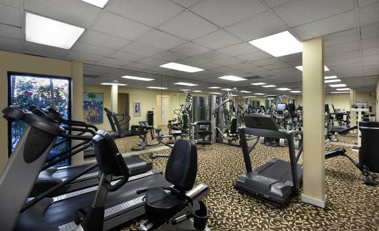Fitness Center Picture Of Ocean Reef Resort Myrtle
