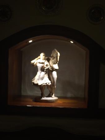 Moravska Restaurace : Jeden z wielu akcentów sztuki ludowej w Moravskiej