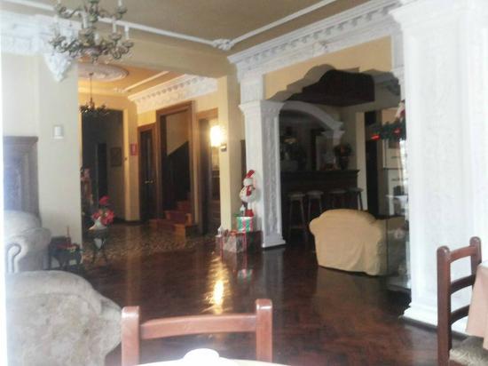 El Balcon Hostal Turistico: Reception hall