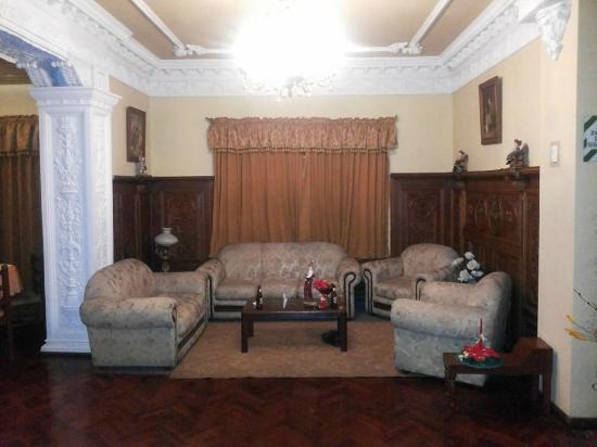 El Balcon Hostal Turistico : Lounge in hall
